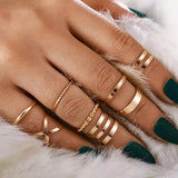 Shaya Ring Stack- Set of 8