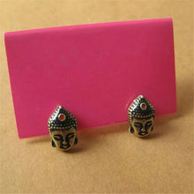 Load image into Gallery viewer, Budha Stud Earrings