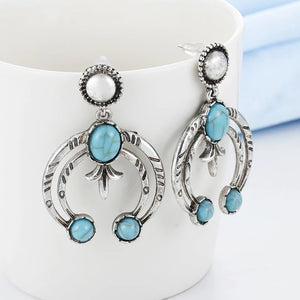 Boho Moon Earrings
