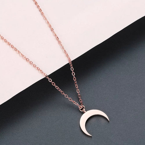 Midnight Necklace- Rose Gold