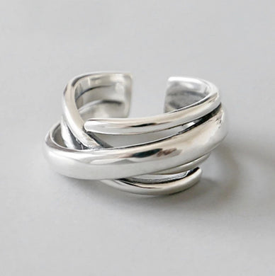 Saturn Ring (Sterling Silver)