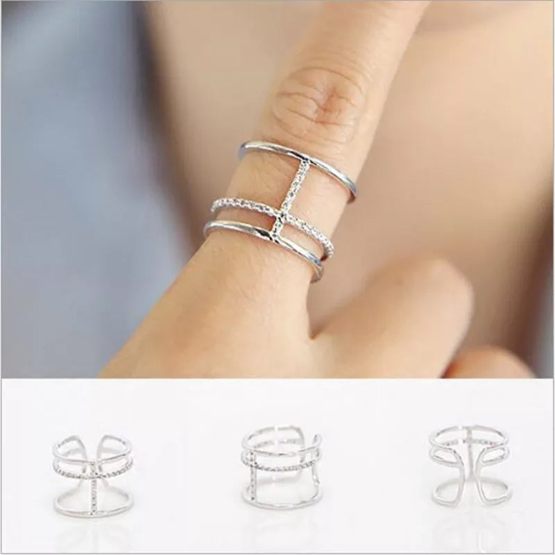 Leo Ring- 925 Silver