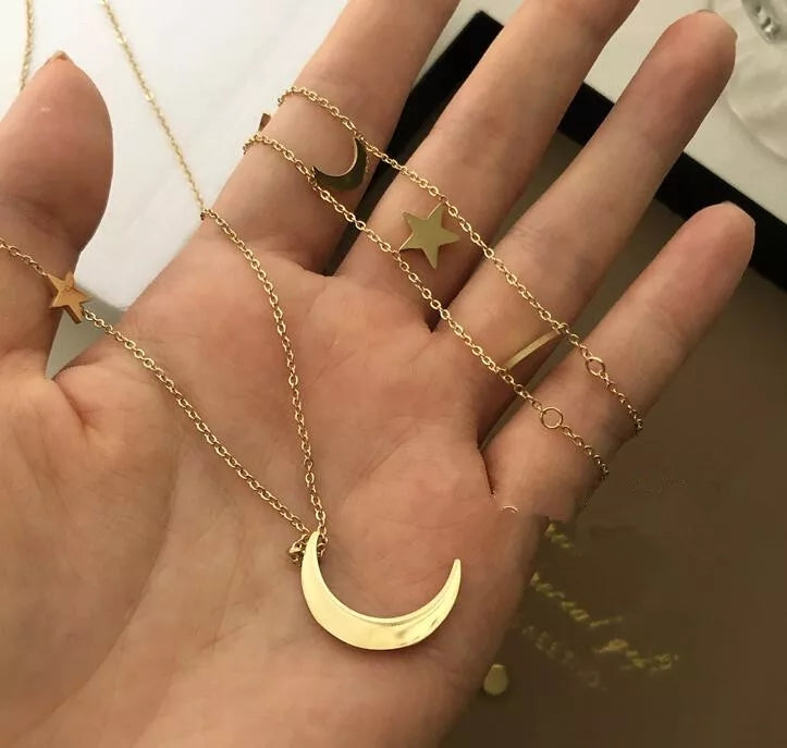 18K Gold Plated- Galaxy Necklace