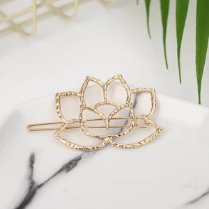 Lotus Hair Barrette