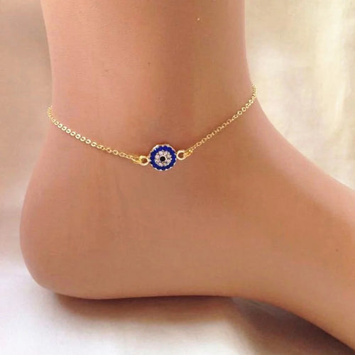 Evil Eye Cosmic Anklet
