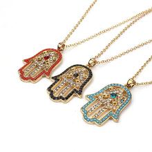 Load image into Gallery viewer, Sacred Hamsa Necklace