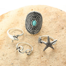 Load image into Gallery viewer, Malibu Rings- Stack of 4