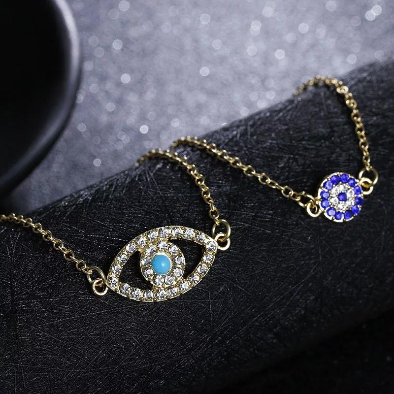 Evil Eye Forever Bracelet- Set of 2