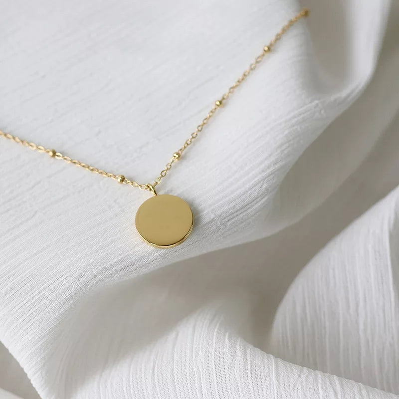 14K Gold Plated- Trinity Necklace