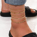Hitch Anklet Stack