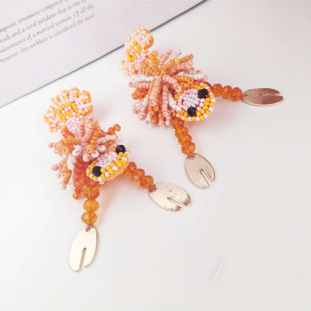 Oh Crab Earrings