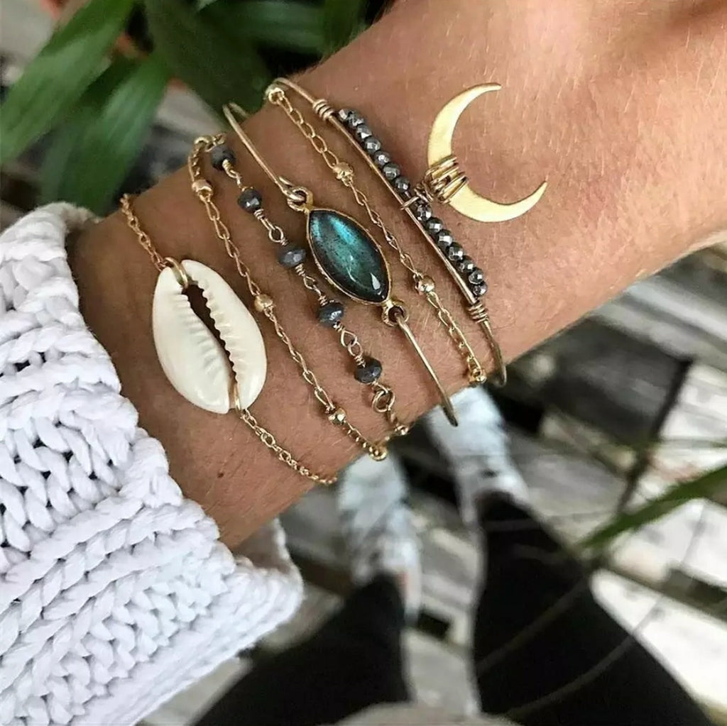 Moon Magic Bracelets- Stack of 6