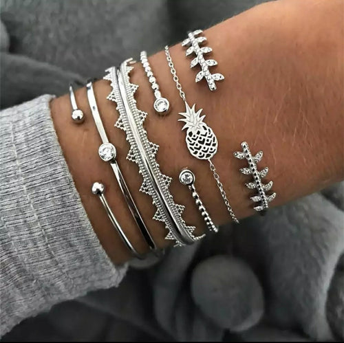 Gypsy Mama Bracelets- Stack of 6
