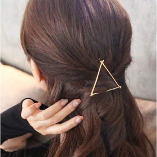 Boho Triangle Hair Barrette