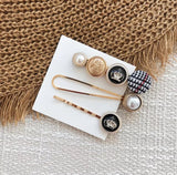 Luxe Hair Barrette- Set of 3