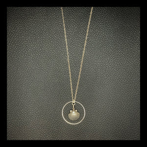 Collier Long Coquillage Argent 925