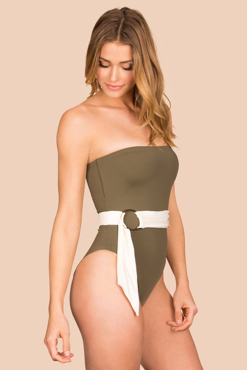 Havana One Piece - (Palm/Shell)