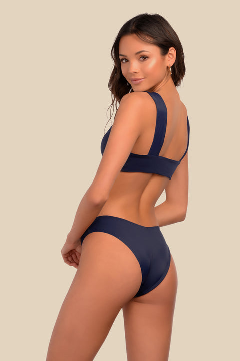 Catalina Bottom - (Navy Stripe/Navy)