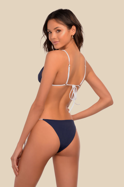 Heatwave Bottom - (Navy Stripe/Navy)