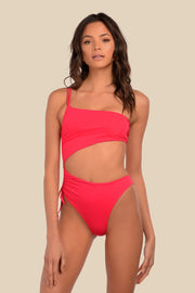It Girl One Piece - (Rouge/Hot Pink)