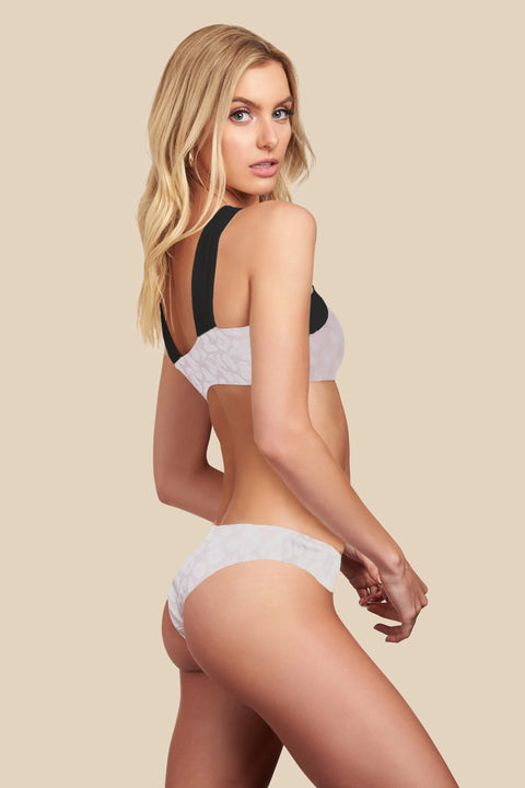 Coastal Bottom - (White Leo/Black)