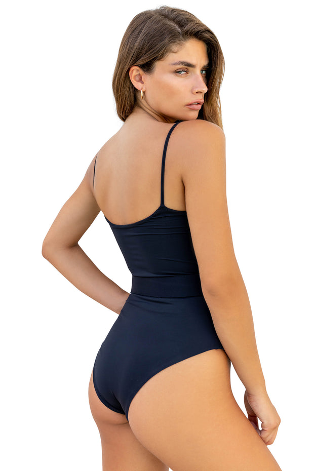 Mia One Piece- (Orchid Smoke/Black)