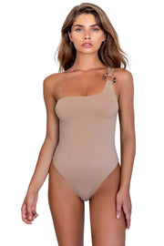 Amara One Piece - (Rose Gold/Latte)