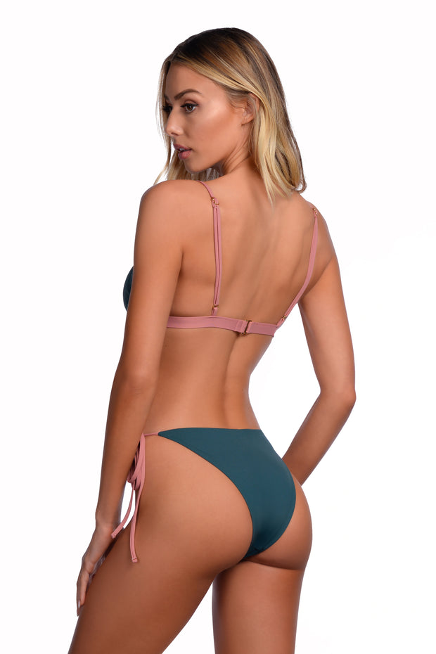 Heatwave Bottom - (Evergreen/Rose Gold)