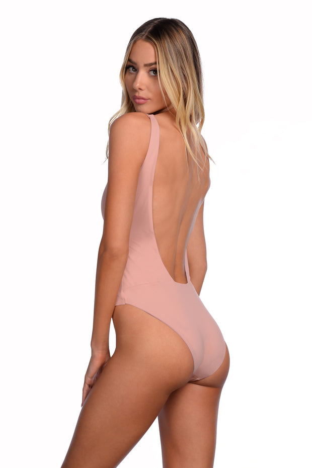Shay One Piece - (Periwinkle/Bellini)