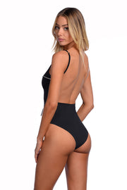 Elsa One Piece - (Shell/Black)