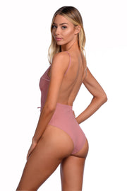 Elsa One Piece - (Rosewater/Rose Gold)