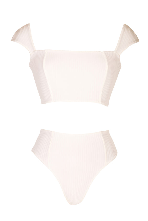 Adaline Bottom - (Rib Dahlia/Rib Shell)
