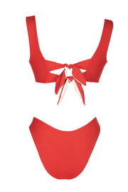 Catalina Bottom - (Rib Scarlett/Rib Shell)