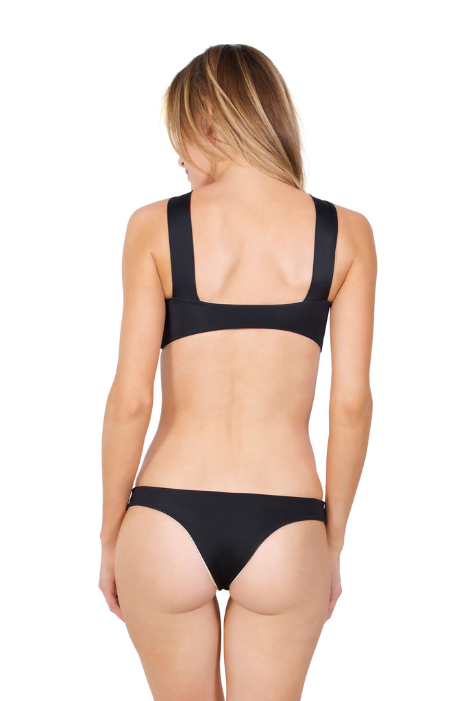 Sunchaser bottom - (Bone/Black)