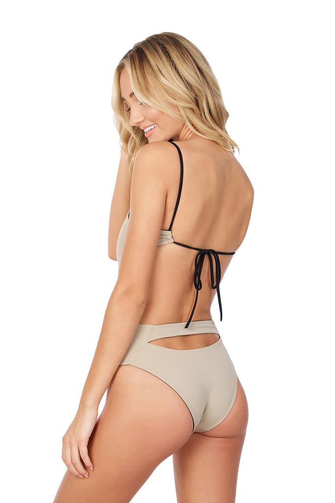 Golden One Piece - (Black/Tan)