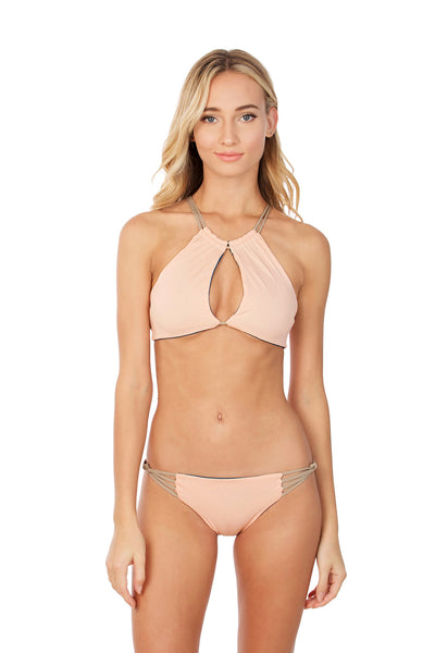 Wanderlust Top - (Fiji/Blush)