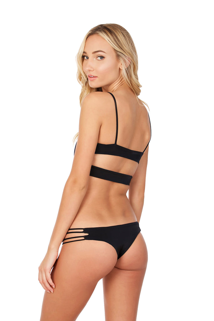 Night Sky Bottom - (Black/Tan)