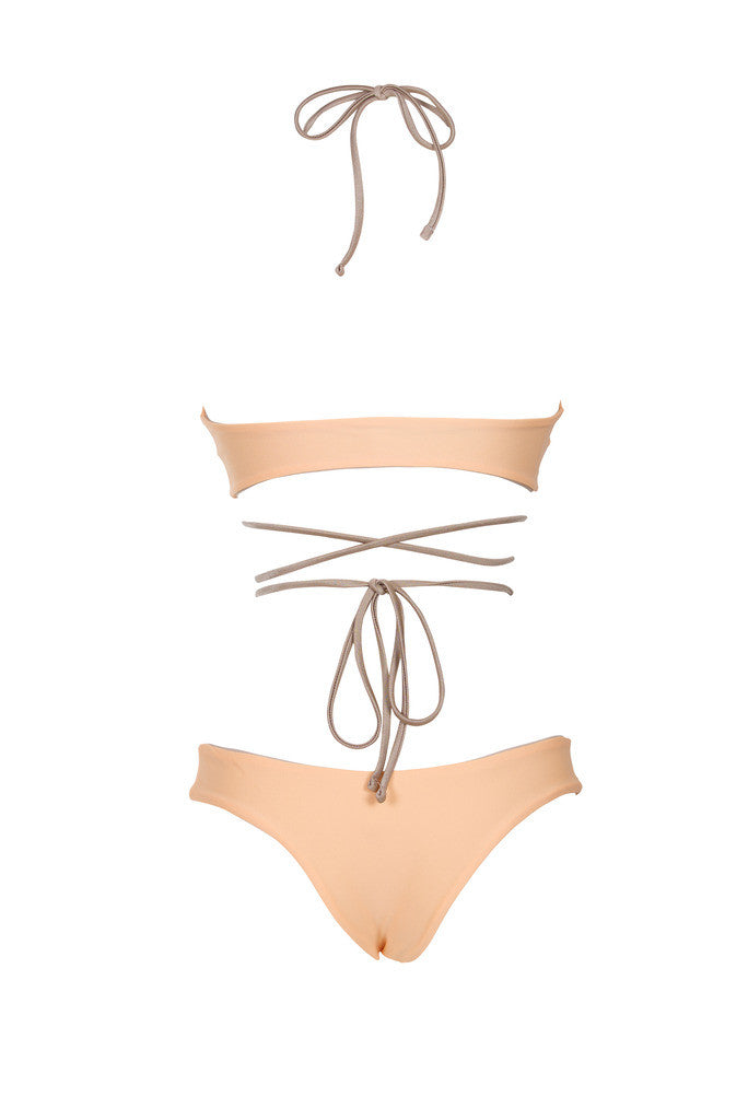 Sun Chaser Bottom - (Peach/Tan)