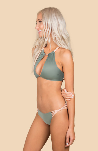Sahara (F) Bottom - (Army Green/Bone)