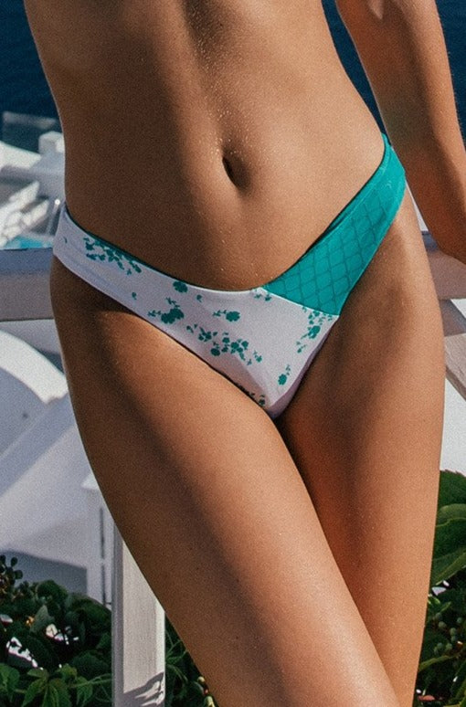Olivia Bottom - (Jade Floral/Jade)