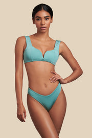 Carmela Top -  (Tiffany/Shell)