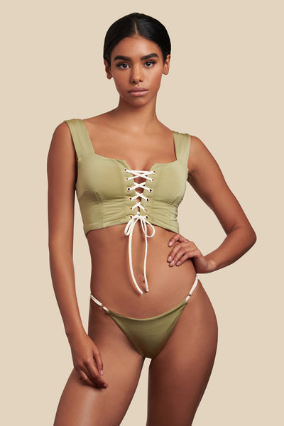 Lola Top - (Ivy/Shell)