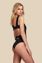 Socialite One Piece - (Black/Bellini)
