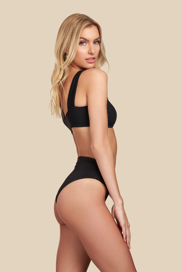 Isla Bottom - (Black/Bellini)