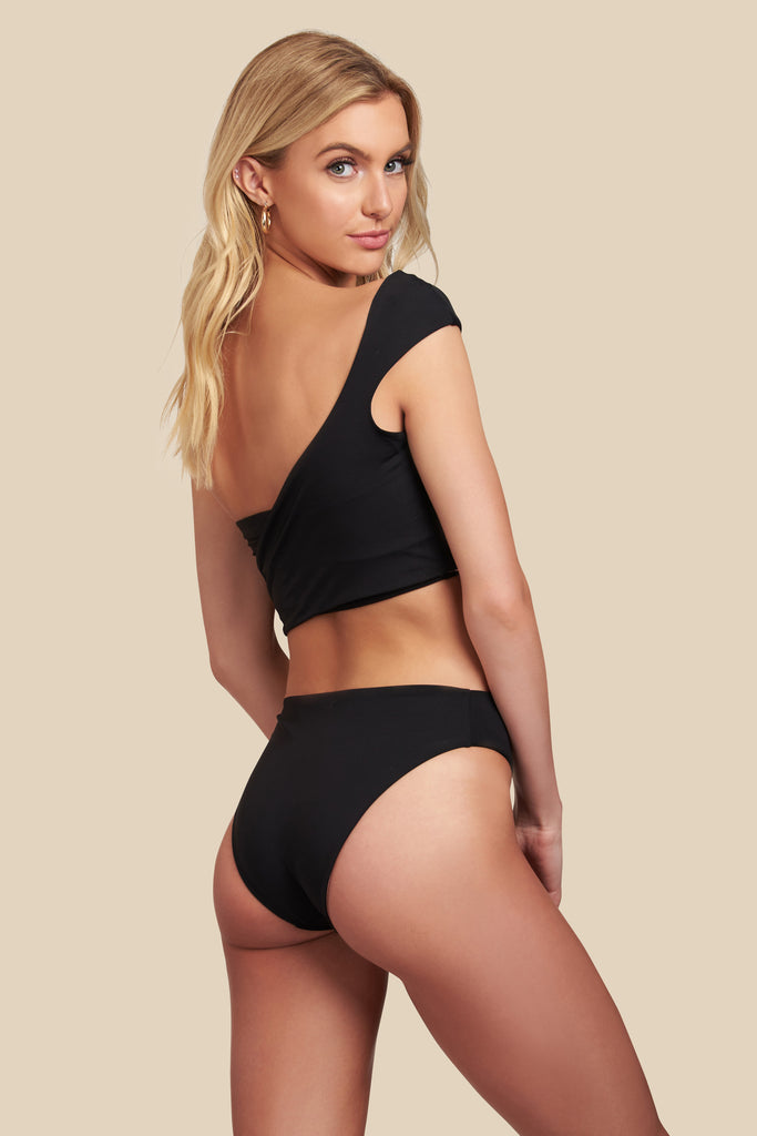 Audrey Bottom - (Black/Bellini)