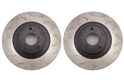 FactionFab Swept Slot Bi-Directional Rotor Pair Front - FRS/BRZ/86