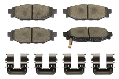 FactionFab F-Spec Rear Brake Pads - FRS/BRZ/86