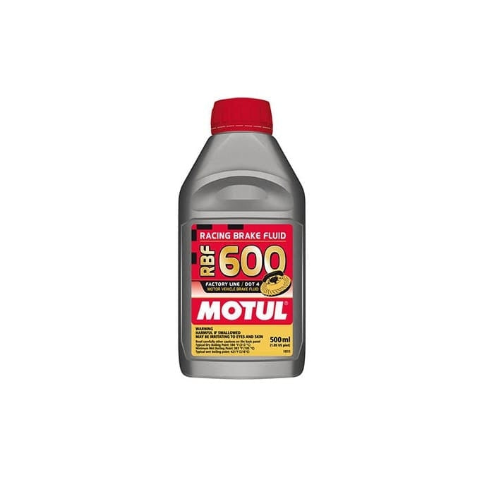 Motul RBF600 Brake Fluid Synthetic DOT 4 500ml - Kaiju Motorsports