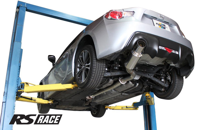 Greddy RS-Race Cat Back Exhaust - FRS/BRZ/86