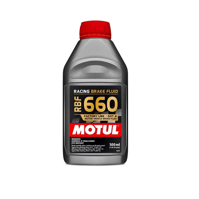 Motul RBF660 Racing DOT 4 Synthetic Brake Fluid 500ml - Kaiju Motorsports